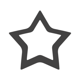 empty, m, star icon