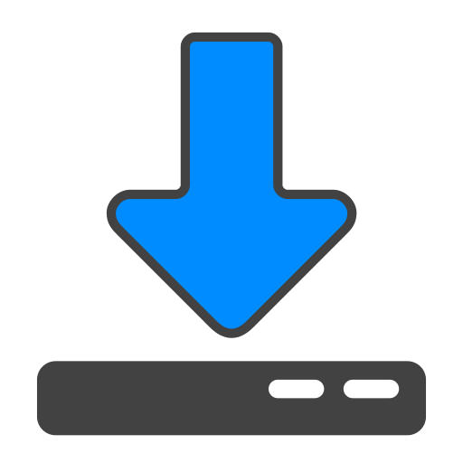device, download icon
