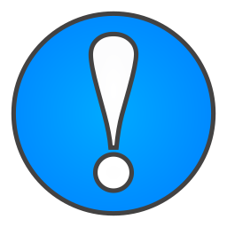 exclamation, sign icon