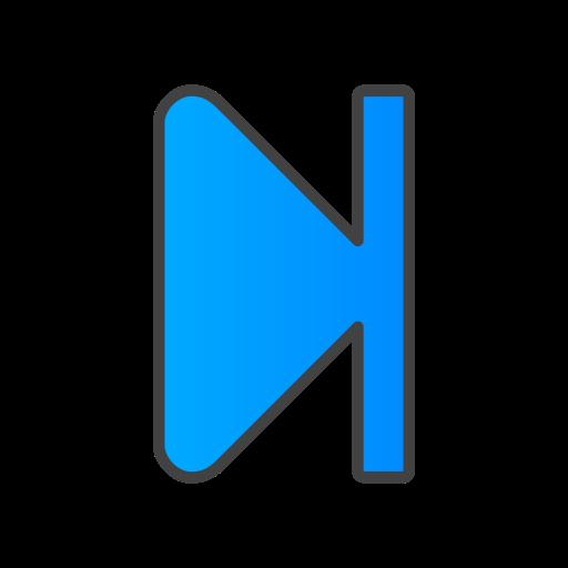 forward, step icon