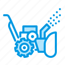blower, electric, removal, snow, thrower icon