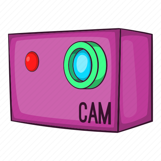 action, cam, camera, cartoon, digital, extreme, video icon
