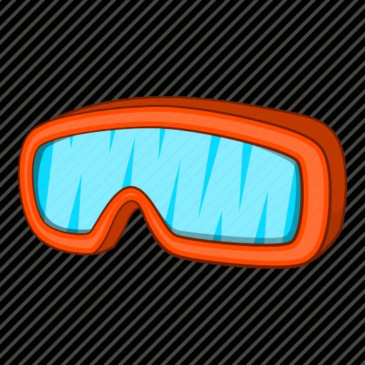 Alpine, cartoon, equipment, mask, ski, sport, winter icon - Download on Iconfinder