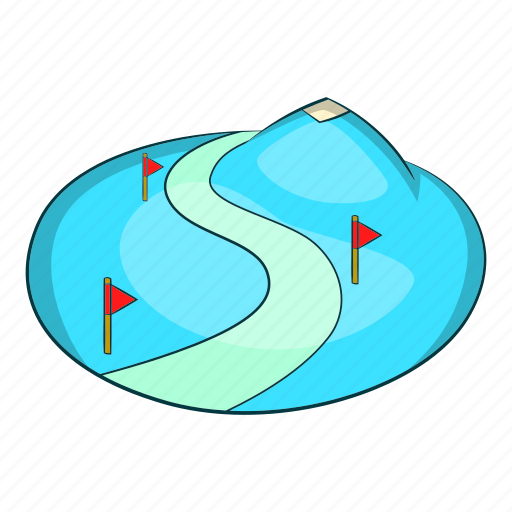 Cartoon, mountain, ski, slope, snow, sport, winter icon - Download on Iconfinder