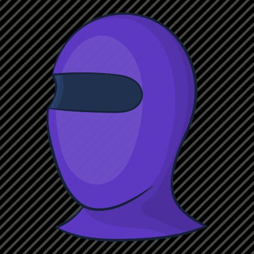 Cartoon, hat, mask, ski, snow, thermal, winter icon - Download on Iconfinder