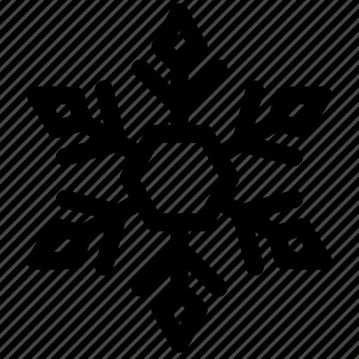 christmas, cold, snow, snowfall, snowflake, weather, winter icon