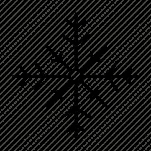 christmas, cold, holiday, snow, snowflake, winter icon