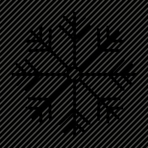 christmas, cold, holiday, ornamental, snow, snowflake icon