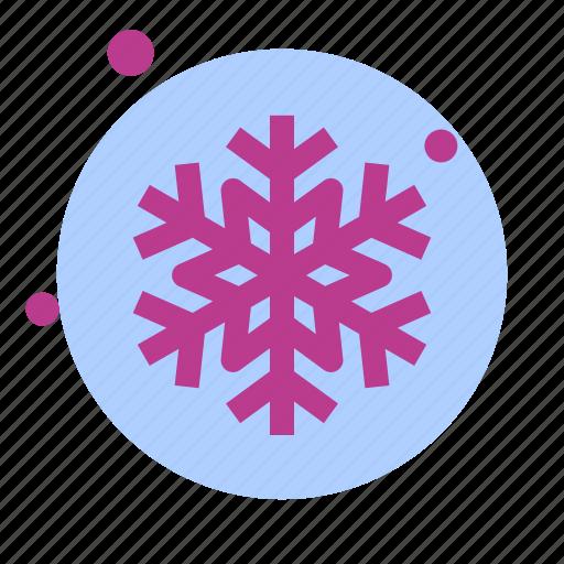 christmas, newyear, snow, snowflake, winter icon