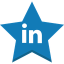 best, favorite, in, linkedin, socal, star, win icon