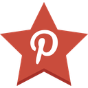 favorite, pin, pinterest, star icon