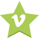 best, favorites, socal, star, vimeo icon
