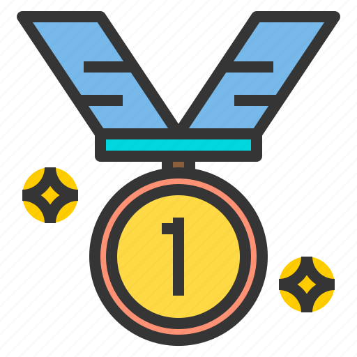 award, medal, sport, stadium, win icon