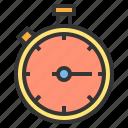 clock, sport, stadium, stopwatch, time icon