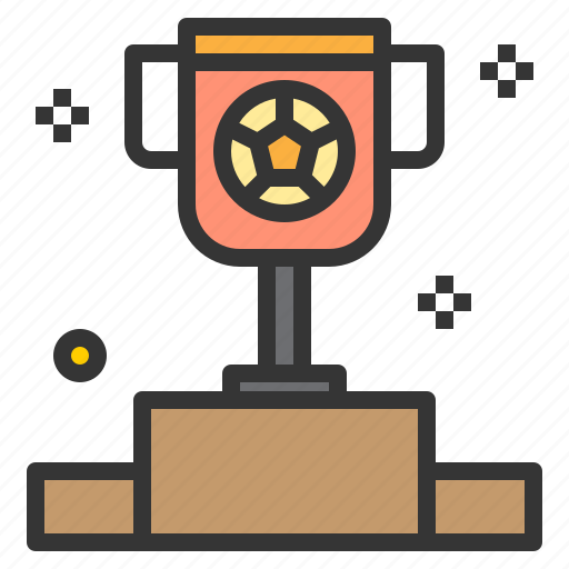 award, sport, stadium, stand, trophy, win icon