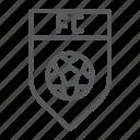 badge, club, emblem, fc, football, game, soccer icon