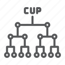 cup, football, league, soccer, sport, tournanment icon