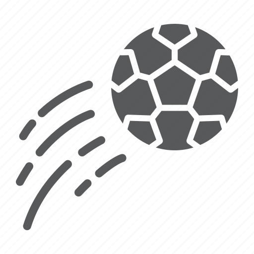 Ball, flying, football, game, kick, soccer, sport icon - Download on Iconfinder