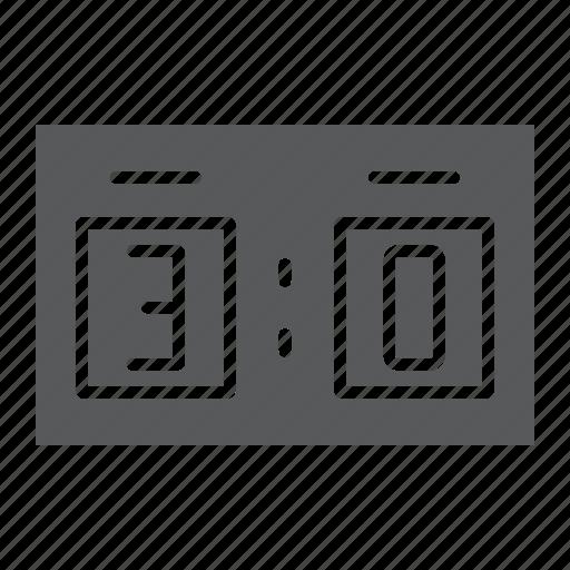 Football, result, scoreboard, soccer, sport icon - Download on Iconfinder
