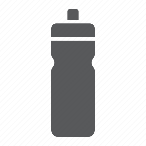 bottle, container, drink, fitness, sport, water icon