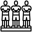 athlete, avatar, man, player, soccer, sport, user icon