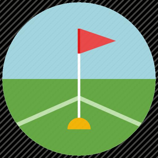 activity, corner, flag, football, soccer, sports icon