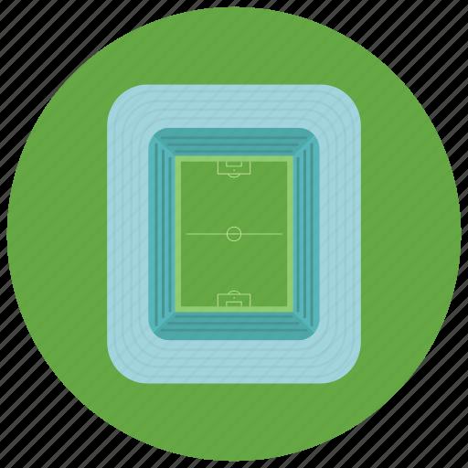 exercise, football, soccer, sports, stadium icon