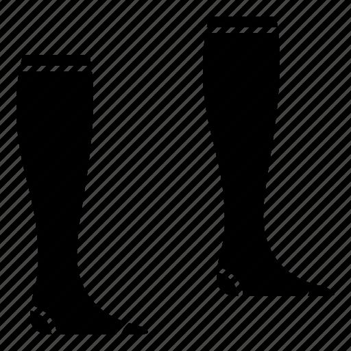 leg, player, soccer, socks, stocking icon