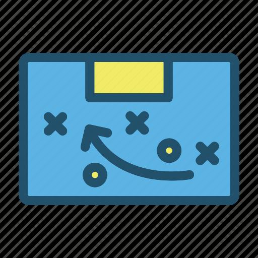 football, game, goal, plan, soccer, sport, tactics icon