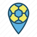 ball, football, game, goal, location, soccer, sport