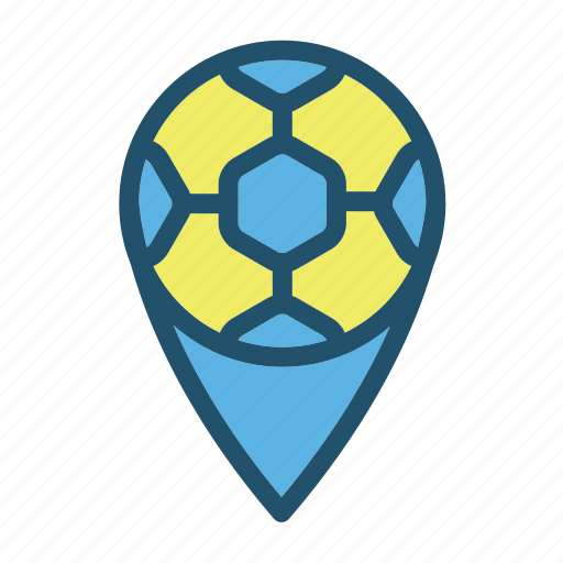 ball, football, game, goal, location, soccer, sport icon