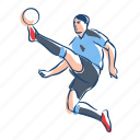 ball, football, footballer, player, soccer, sport, uruguay icon