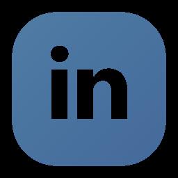 in, linked, linkedin, logo, social icon