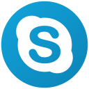 communication, skype, call, chat, social, talk icon