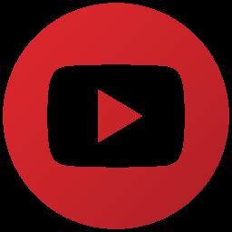 logo, play, social, youtube icon