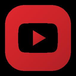 logo, play, social, video, youtube icon