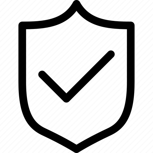 Check, protection, safety, secure, security, shield icon - Download on Iconfinder