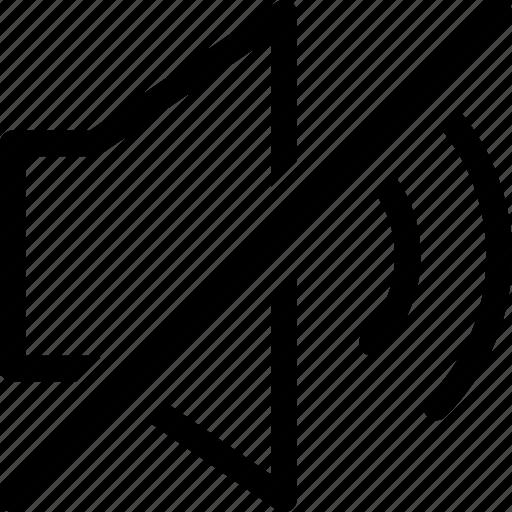 Audio, music, mute, none, sound, speaker icon - Download on Iconfinder