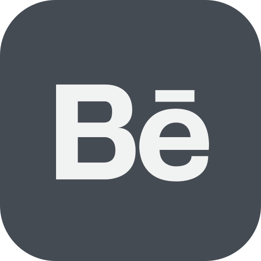 behance, chat, communication icon