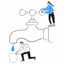 water, conservation, social, activism, save, man, drop, tap, liquid, glass