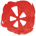 network, restaurant, review, social, yelp icon