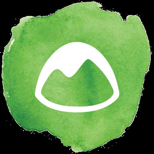 basecamp, mountain, social, social media, social network icon