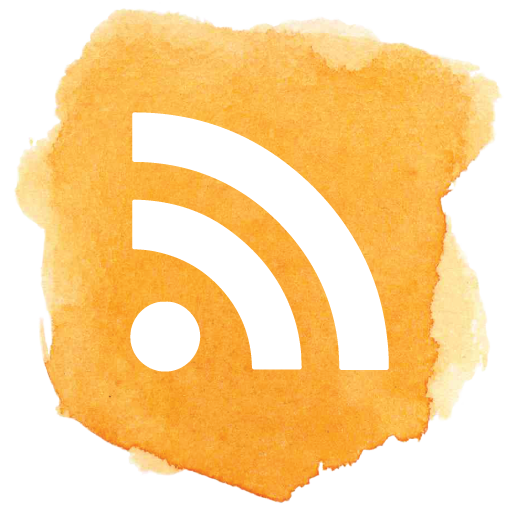 Social media, social, rss, feed, blog, subscribe, follow icon - Free download