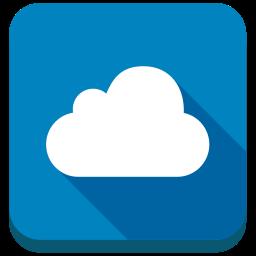 cloud, cloudy, saas icon