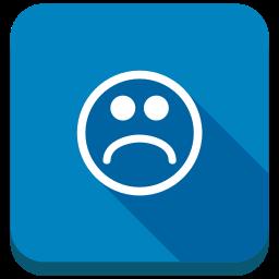 emoticons, emotion, negative, sad, sad smile, smiley icon