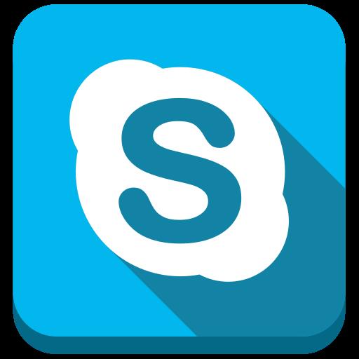 messenger, skype icon