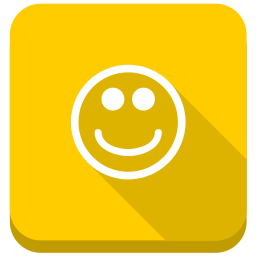 emoticon, emotion, happy, happy smile, positive, smile, smiley, sunny icon