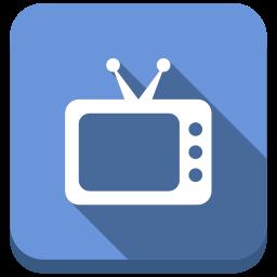 online tv, smart tv, television, tv, tv set icon