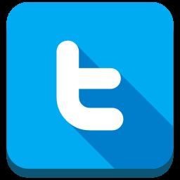 twitter, twitter letter icon