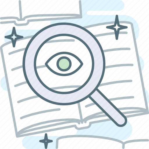 lens, loupe, magnifier, search, zoom icon